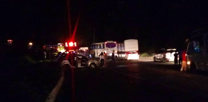 MG: Acidente com ônibus da Pássaro Verde na  BR-381 deixa feridos