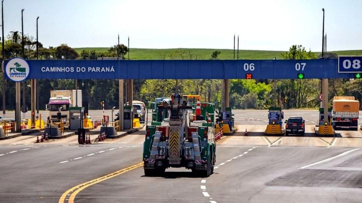Governador do Paraná fala sobre as tarifas de pedágios no estado