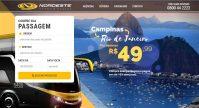 Expresso Nordeste oferece passagem para o Rio por R$ 49,99
