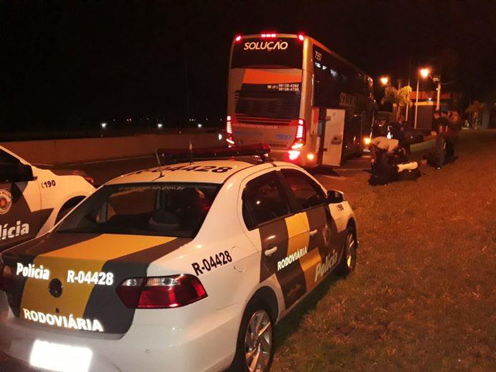 SP: PMR prende R$160 mil com passageiro de ônibus na rodovia Anhanguera