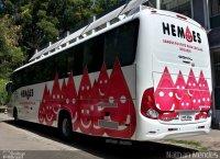 Ônibus do Hemoes circula pelo Espírito Santo coletando sangue