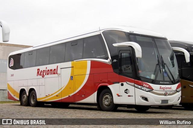 Viação Regional incorpora mais novos ônibus New G7 1350