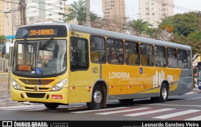PR: Passageiro morre após ser baleado em ônibus de Londrina