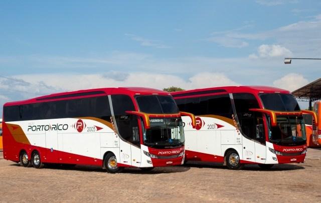 Viação Porto Rico renova com novos ônibus Volvo