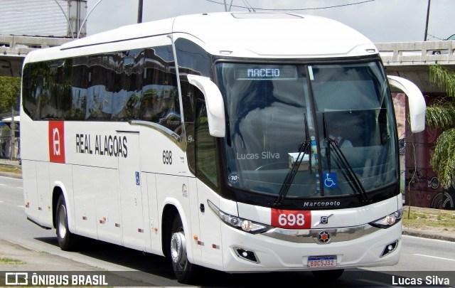 Real Alagoas segue testando o Paradiso New G7 Volvo