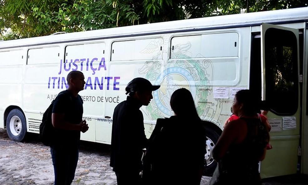 AM: Divulgada programação do ônibus da Justiça Itinerante