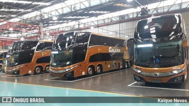 Galáxia Turismo renova com novos ônibus Double Decks