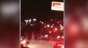 PE: Briga de torcedores é filmada por passageiro de ônibus em Olinda