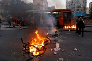 Chile pode deixar de realizar a Libertadores após conflitos no país