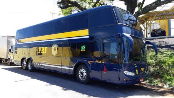 PRF adquire 26 viaturas blindadas e um ônibus Double Deck no Paraná