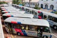 PR: Viação Apucarana apresenta nova frota de ônibus