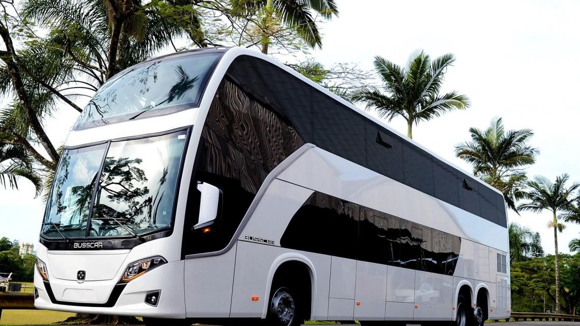 Util deve receber nas próximas semanas novo ônibus DD da Busscar