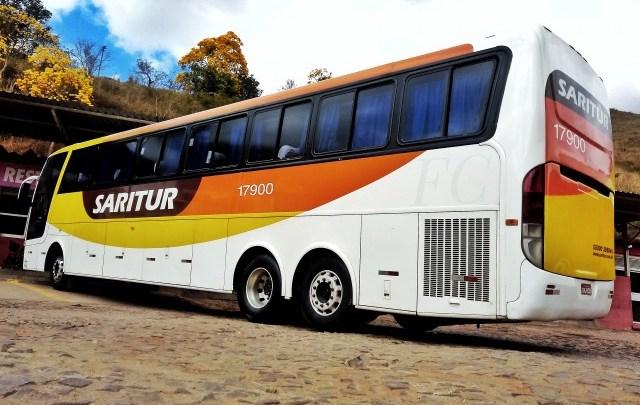 Saritur opera serviço convencional com 50 poltronas em Minas Gerais