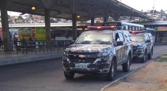Circulação de ônibus na Grande Recife segue tranquila nesta terça-feira