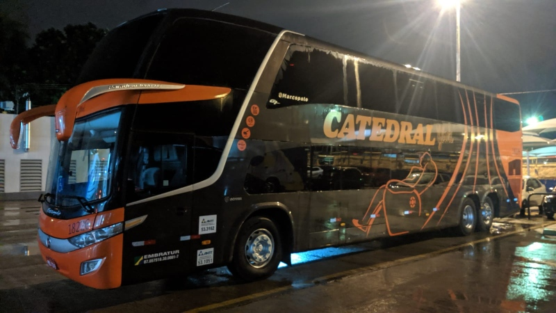 GO: PRF apreende dois ônibus da Catedral Turismo com placas clonadas
