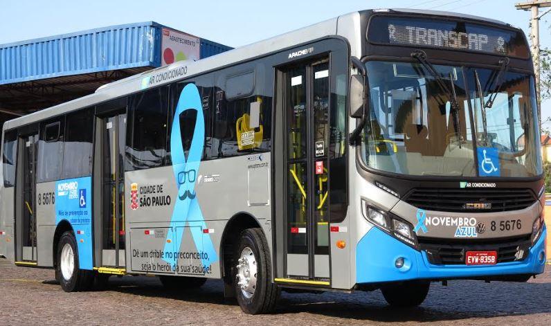 Ônibus para a Campanha Novembro Azul começa a circular em São Paulo