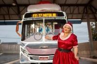 PR: Viação Campos Gerais estreia ônibus natalino nesta sexta 22 em Ponta Grossa