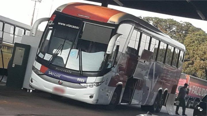 Ônibus da Viação São Luiz segue apresentando problemas mecânicos no MS