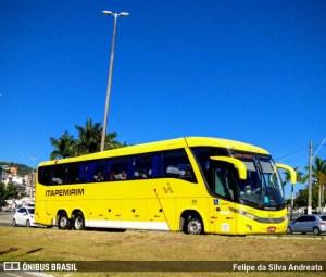 Ônibus da Viação Itapemirim apresenta problemas durante uma viagem com destino a Vitória