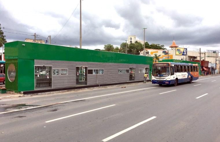 Prefeitura de Cuiabá entrega nova estação de ônibus climatizada