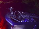 MG: Ônibus da Viação Aguia Branca cai em ribanceira ao ser atingido por carreta na BR-116 em Muriaé