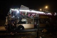 Acidente com ônibus DD na China deixa 6 mortos e 30 feridos