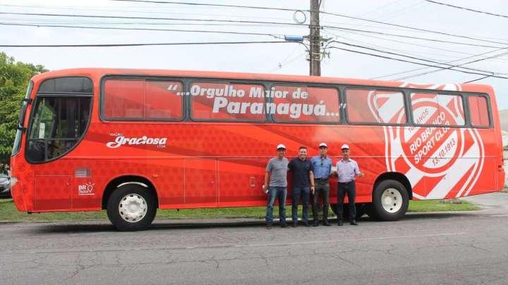 Viação Graciosa disponibiliza ônibus para o Rio Branco Sport Club