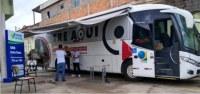MG: Ônibus TRE Aqui atende eleitores em Santa Luzia e Juiz de Fora