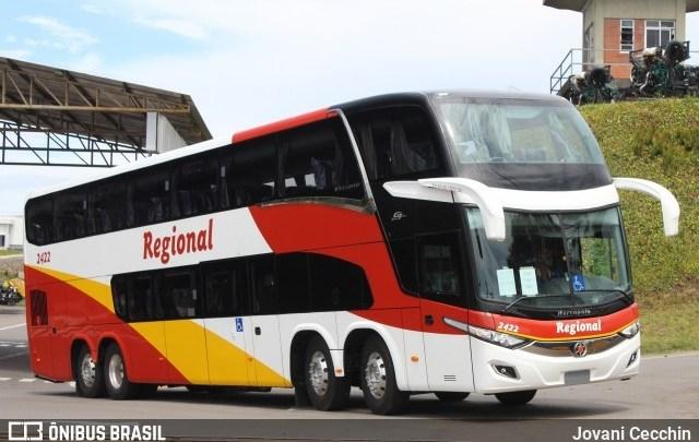 Viação Regional renova com ônibus Double Deck 8×2