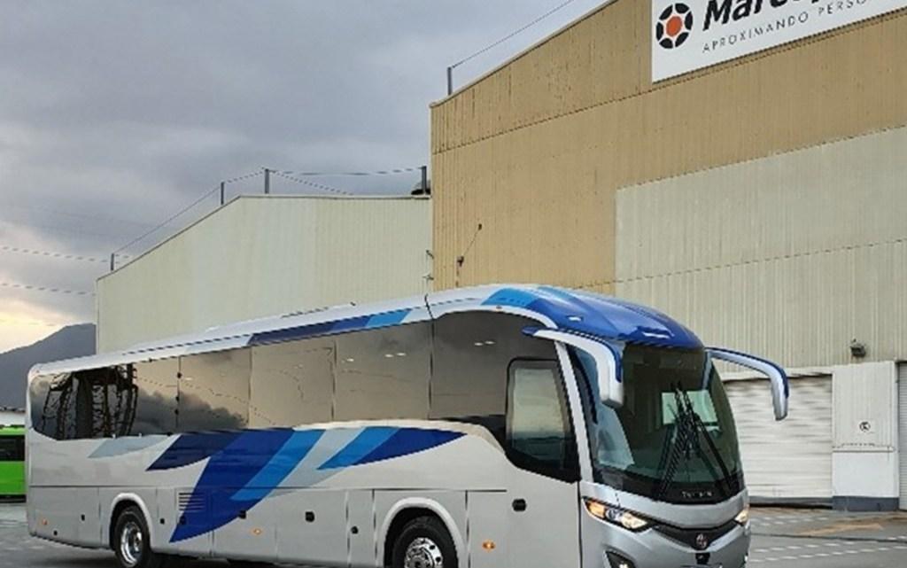 Marcopolo México lança o novo ônibus modelo Viaggio 950