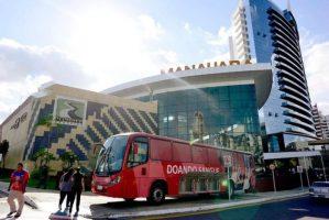 Manaus: Ônibus do Hemoam vai estar nesta quinta-feira no Manauara Shopping