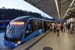 Rio: Terminais e Estações do BRT Rio seguem sem informar horários dos ônibus