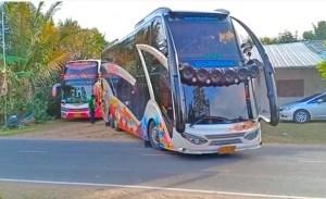 Vídeo: Ônibus modificados chamam atenção na internet