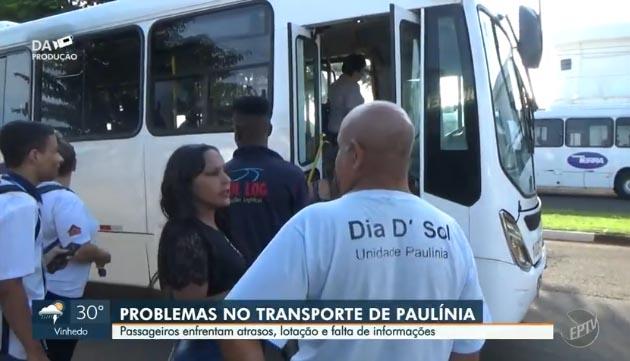 SP: Moradores de Paulínia reclamam de superlotação em ônibus