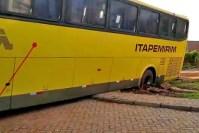 PI: Incidente com ônibus da Itapemirim mostra o péssimo estado do acesso a rodoviária de Picos