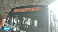 SP: Ônibus de Paulínia seguem com letreiros informando linhas do Rio de Janeiro