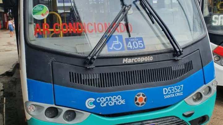 Prefeitura do Rio realização fiscalização e aplica multas em ônibus no Terminal de Campo Grande
