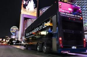 Las Vegas: Uber venderá passagens de ônibus pelo aplicativo