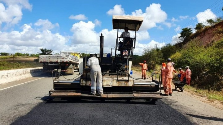 DNIT realiza obras de manutenção na BR-101/SE