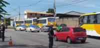 RJ: Blitz do BPRv multa diversos ônibus em Campos dos Goytacazes