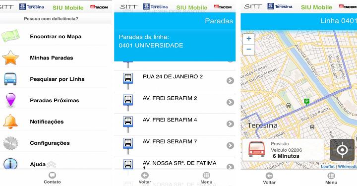 Aplicativo SIU Mobile auxiliará na mobilidade dos usuários de ônibus em Teresina