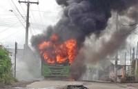 MG: Ônibus é incendiado em Sete Lagoas nesta quarta-feira