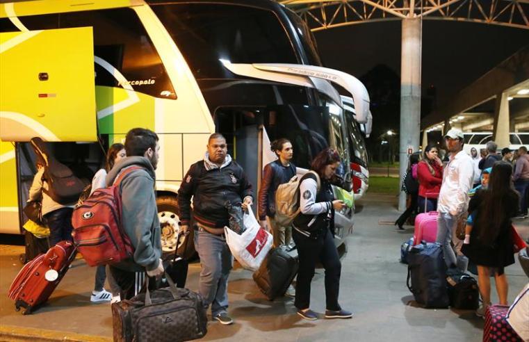 Rodoviária de Curitiba deverá registrar 49.5 mil embarques durante o carnaval