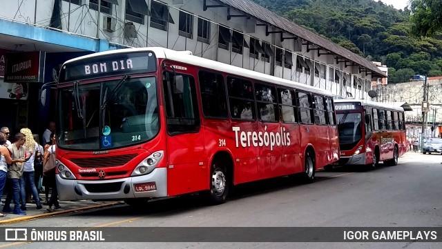 TJ-RJ suspende sistema de integração de Teresópolis