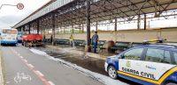 SP: Prefeitura de Rio Claro faz nova limpeza no terminal de ônibus