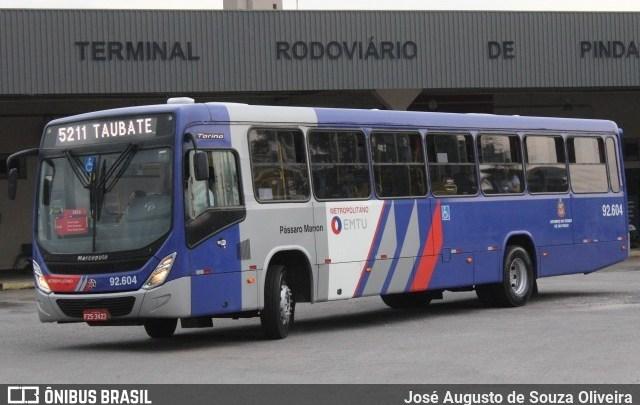 SP: Nova linha de ônibus metropolitano ligará Pindamonhangaba e Taubaté para reforçar o atendimento