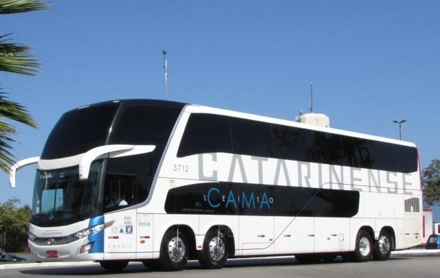 PR: Assalto a ônibus da Viação Catarinense deixa 3  mortos na BR-116
