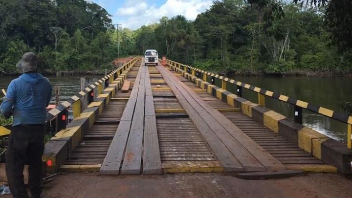 AP: Tráfego de veículos pesados na ponte de Santo Antônio da Pedreira é restringido