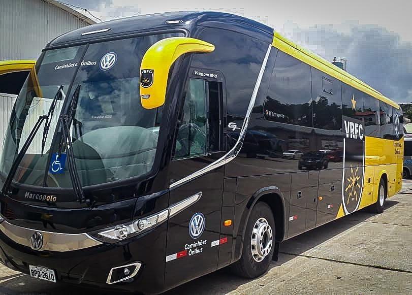 RJ: Volta Redonda F.C recebe novo ônibus G7 1050 Volks