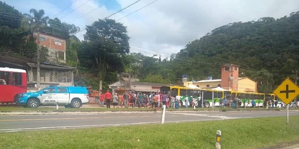 RJ: Teresópolis registra protesto contra novo sistema de integração de ônibus